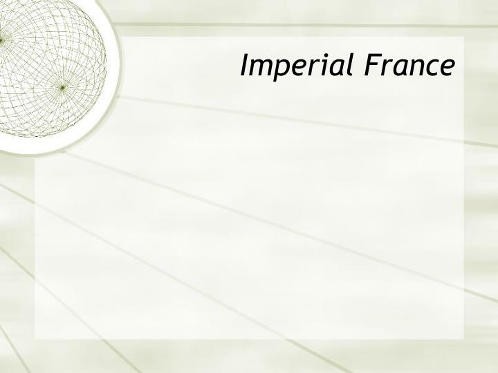 Imperial France