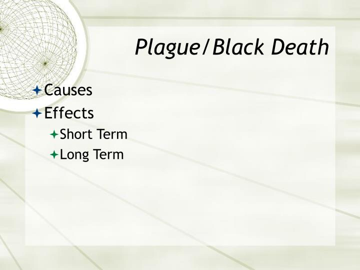 Plague/Black Death
