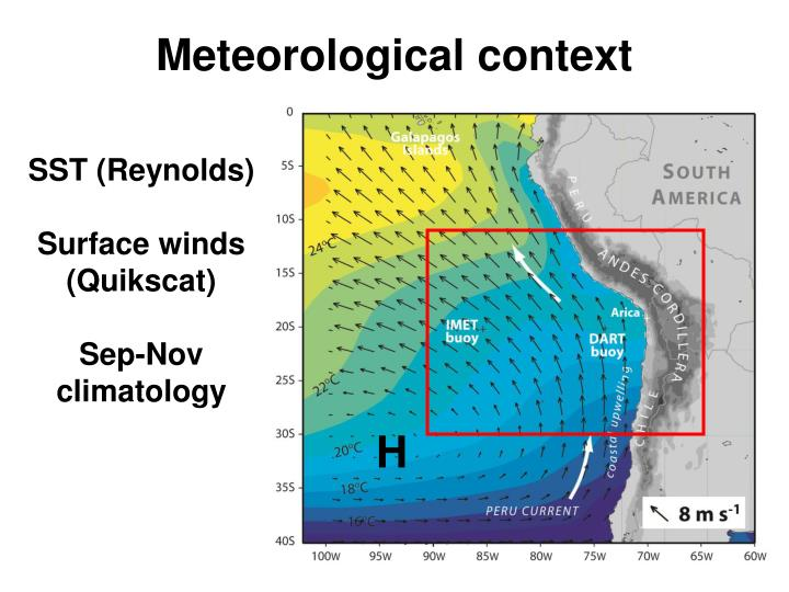 Meteorological context