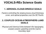 vocals rex science goals