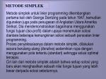 metode simplek1