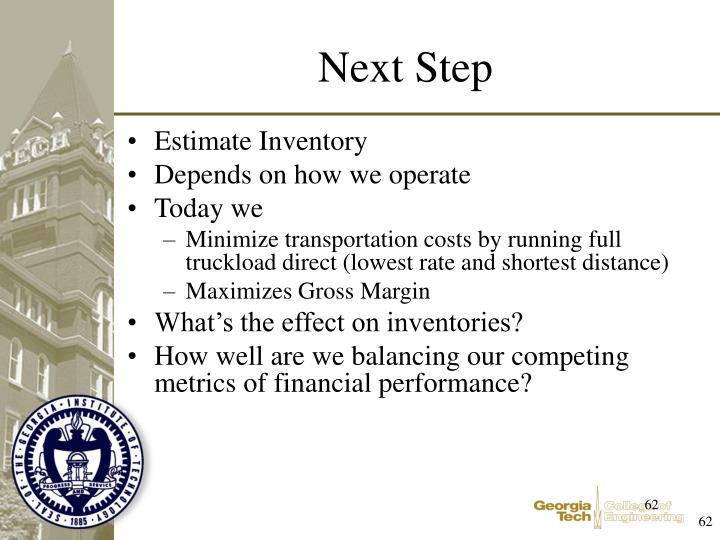 Estimate Inventory