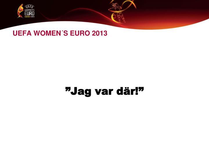 UEFA WOMEN´S EURO 2013