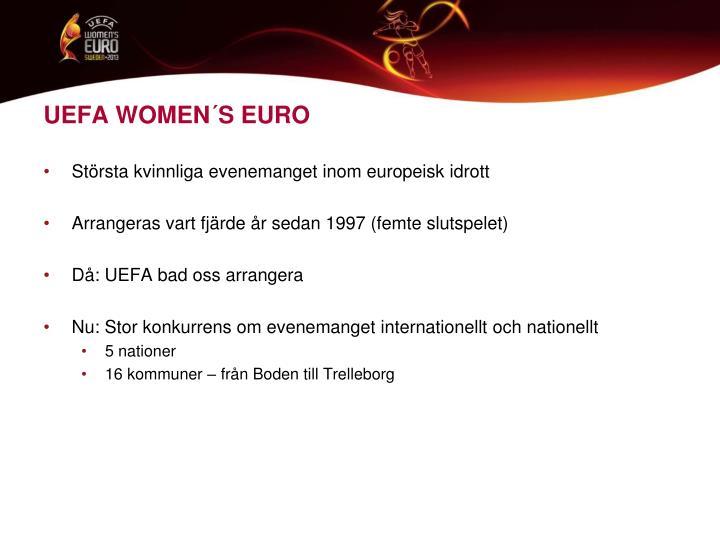 UEFA WOMEN´S EURO