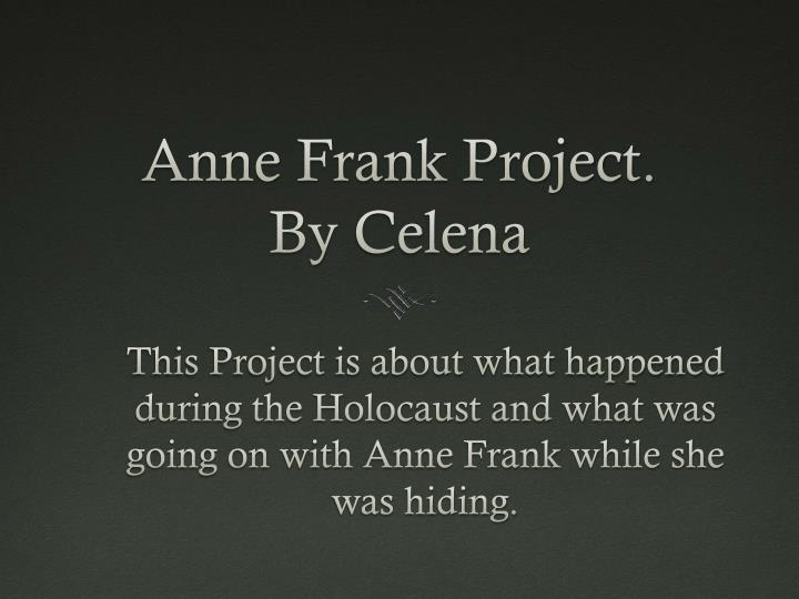 an overview of the jewish girl anne franks story during the holocaust Anne frank: anne frank, jewish girl whose diary of her is the most widely read diary of the holocaust, and anne is probably anne frank house overview of.