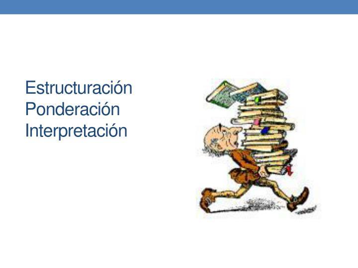 Estructuración