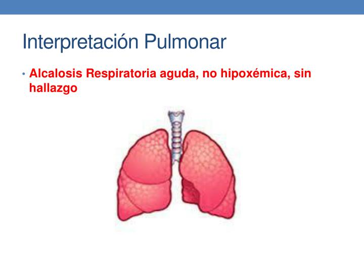 Interpretación Pulmonar