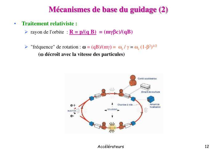 Mécanismes de base du guidage (2)