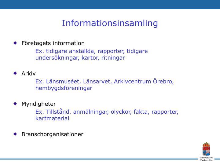 Företagets information