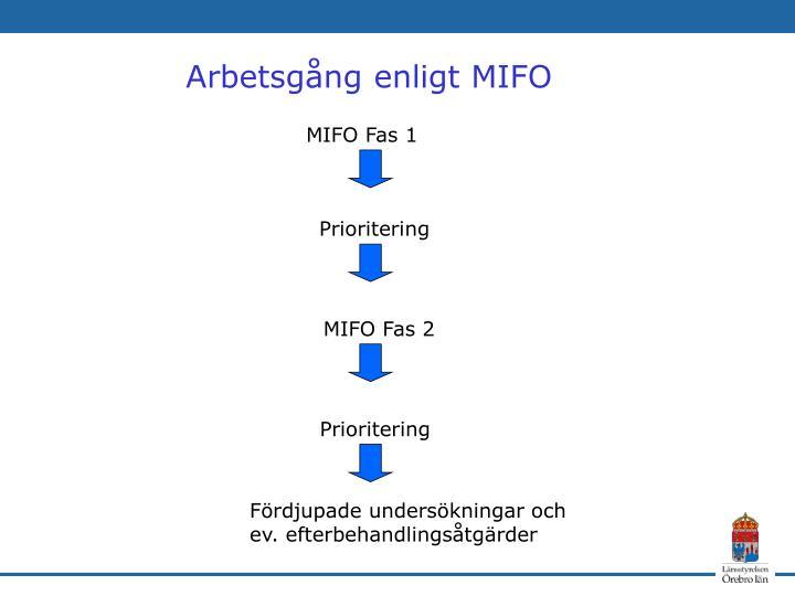 MIFO Fas 1