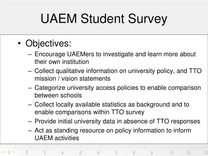 UAEM Student Survey