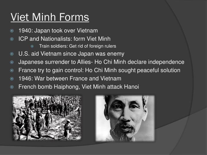 Viet Minh Forms