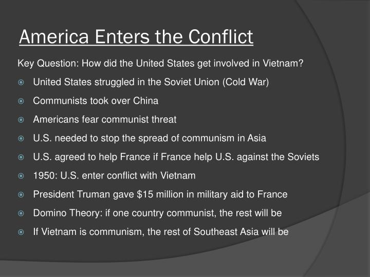 America Enters the Conflict