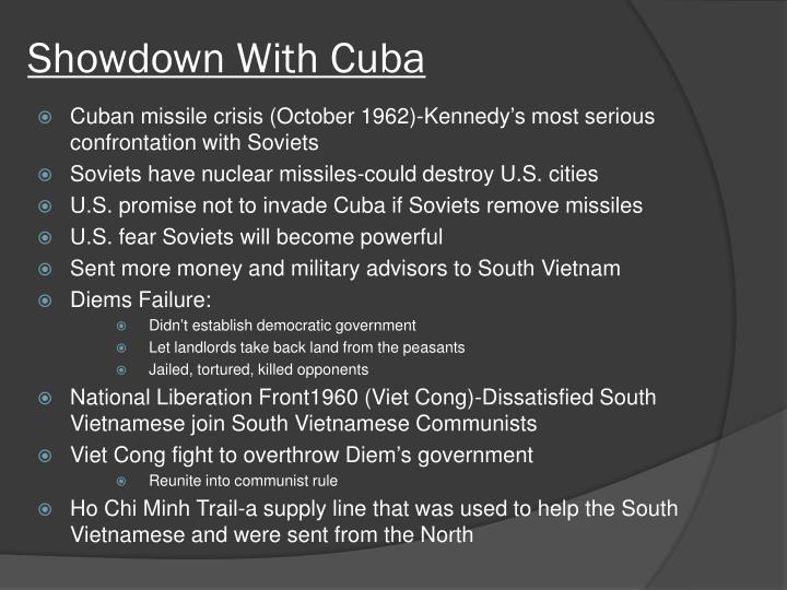 Showdown With Cuba