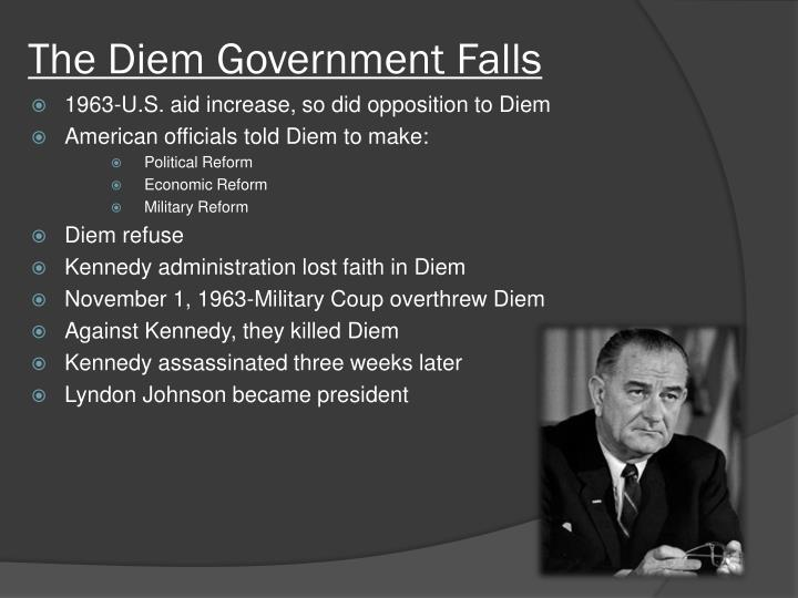 The Diem Government Falls