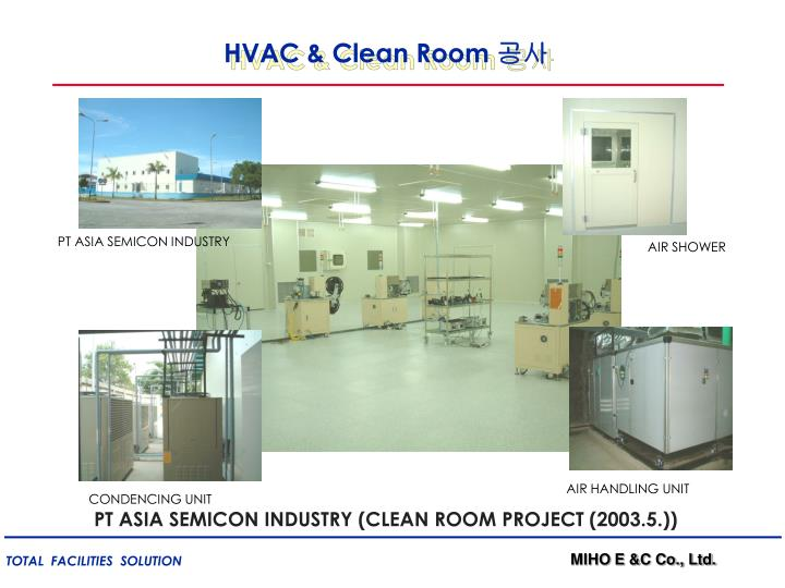 HVAC & Clean Room