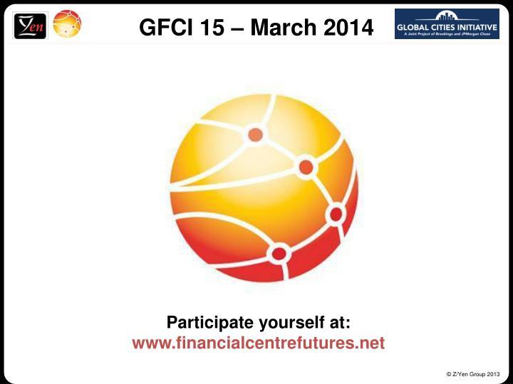 GFCI 15 – March 2014