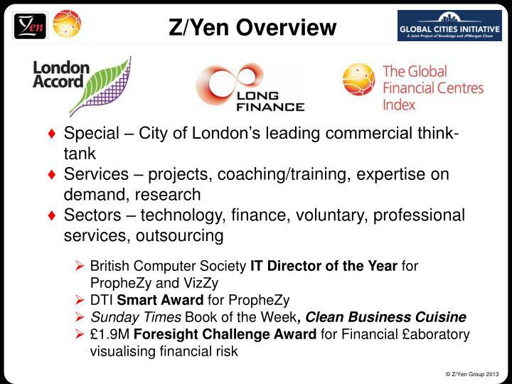 Z/Yen Overview