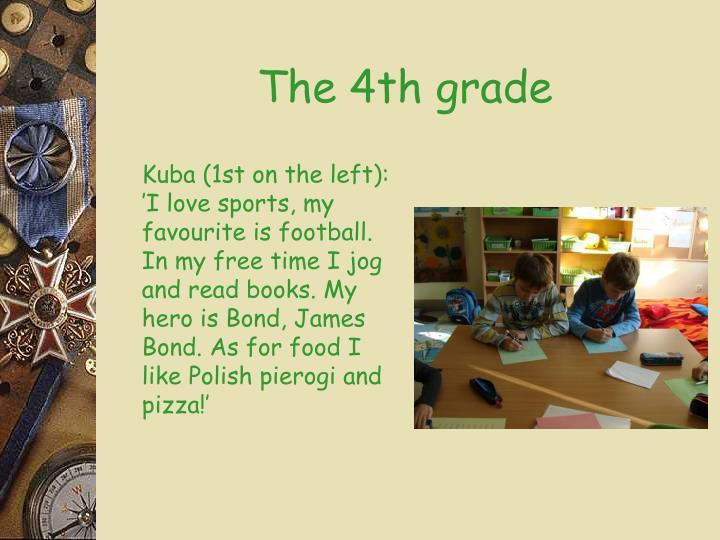 The 4th grade