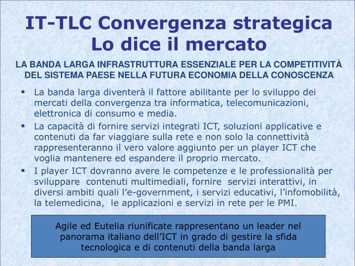 IT-TLC Convergenza strategica
