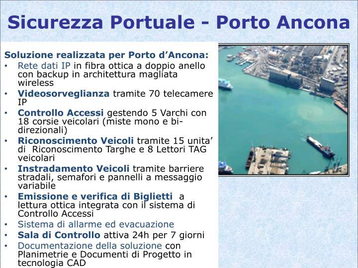 Sicurezza Portuale - Porto Ancona