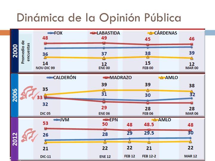 Dinámica de la Opinión Pública