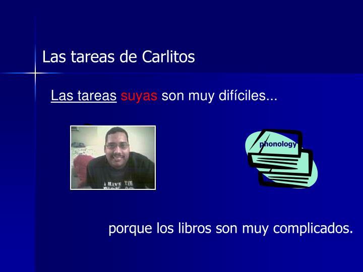Las tareas de Carlitos