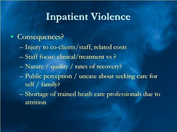 Inpatient Violence