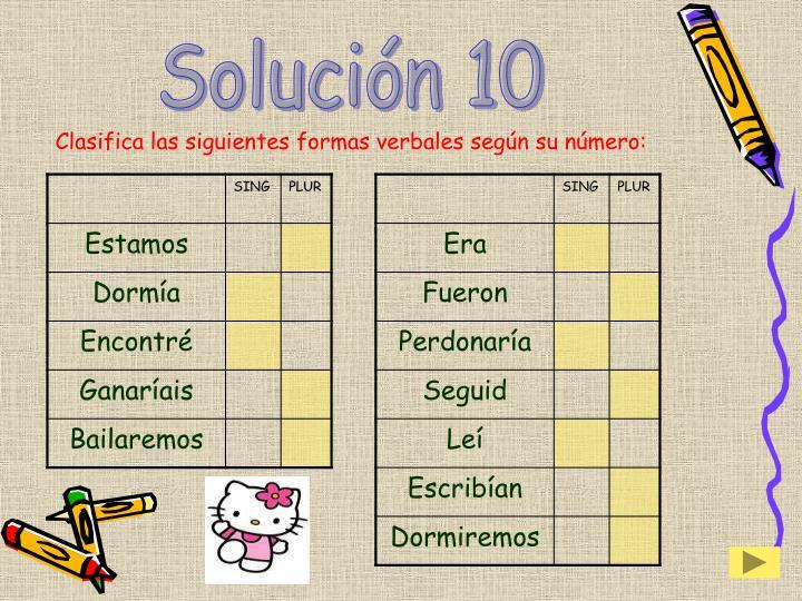 Solución 10