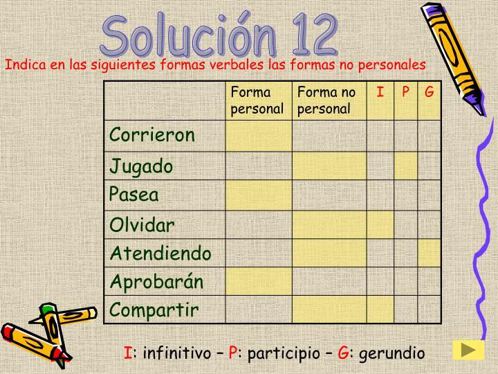Solución 12