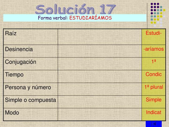 Solución 17