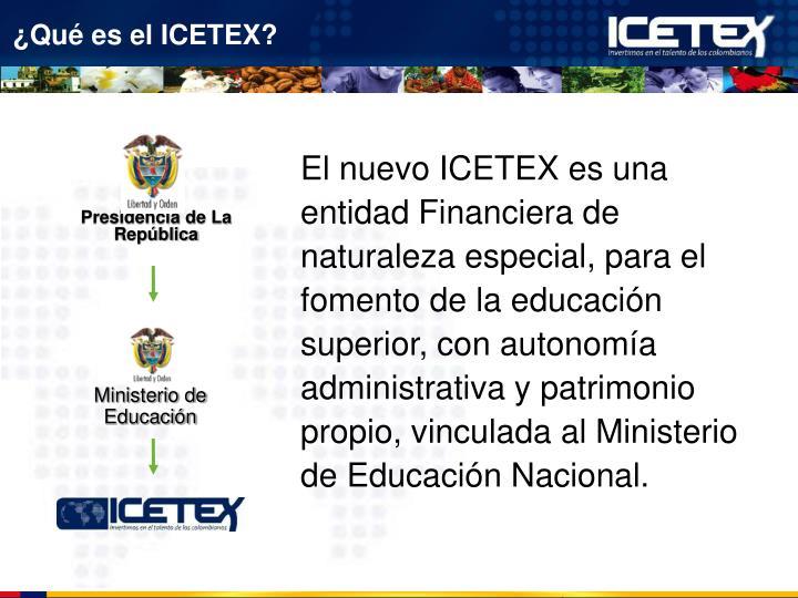 ¿Qué es el ICETEX?