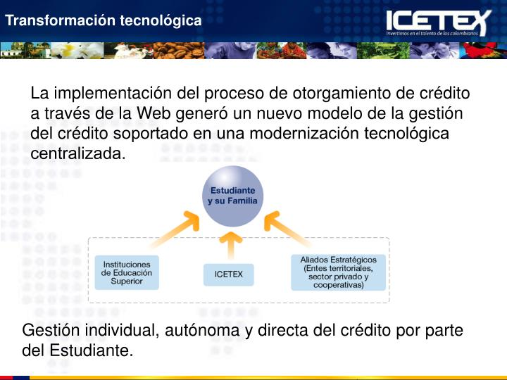 Transformación tecnológica