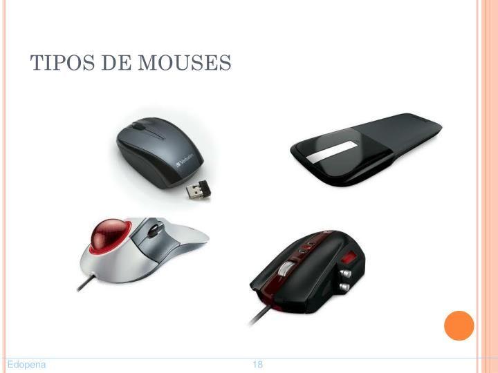 TIPOS DE MOUSES