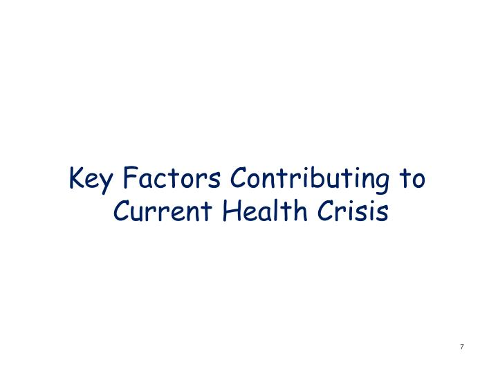 Key Factors Contributing to