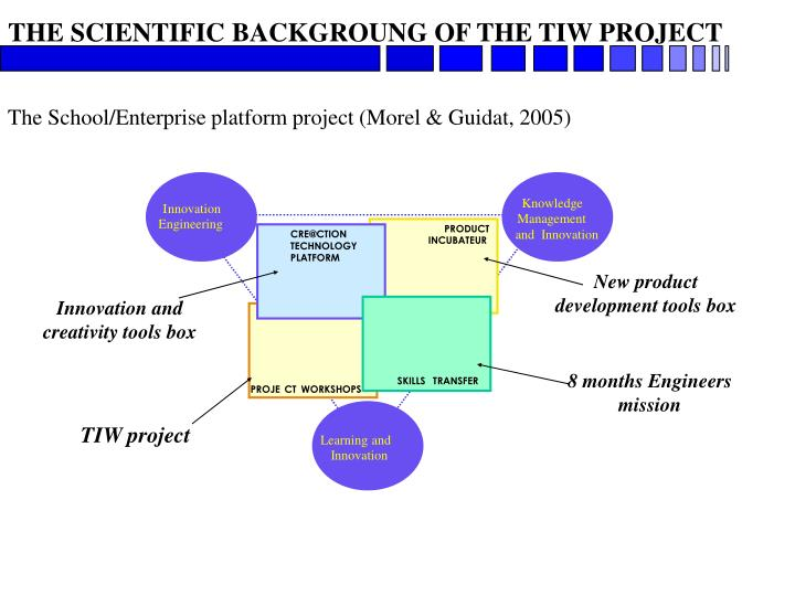 THE SCIENTIFIC BACKGROUNG OF THE TIW PROJECT