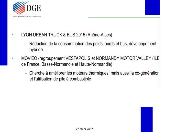 LYON URBAN TRUCK & BUS 2015 (Rhône-Alpes)