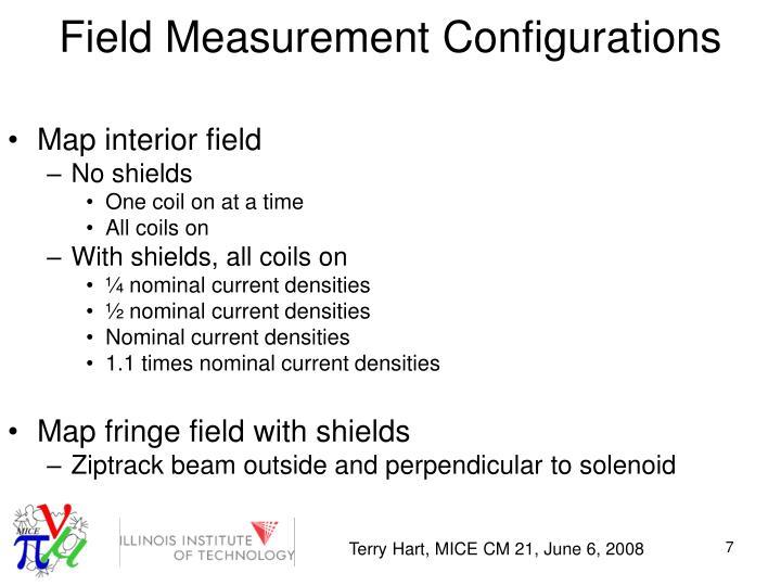 Field Measurement Configurations