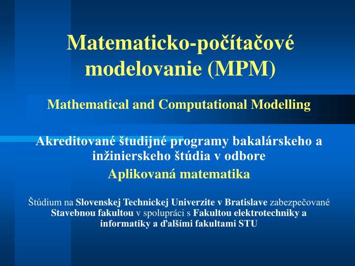 Matematick