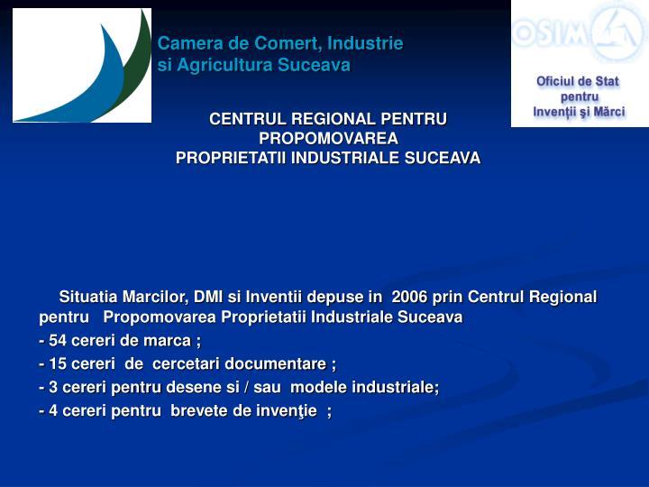 Camera de Comert, Industrie