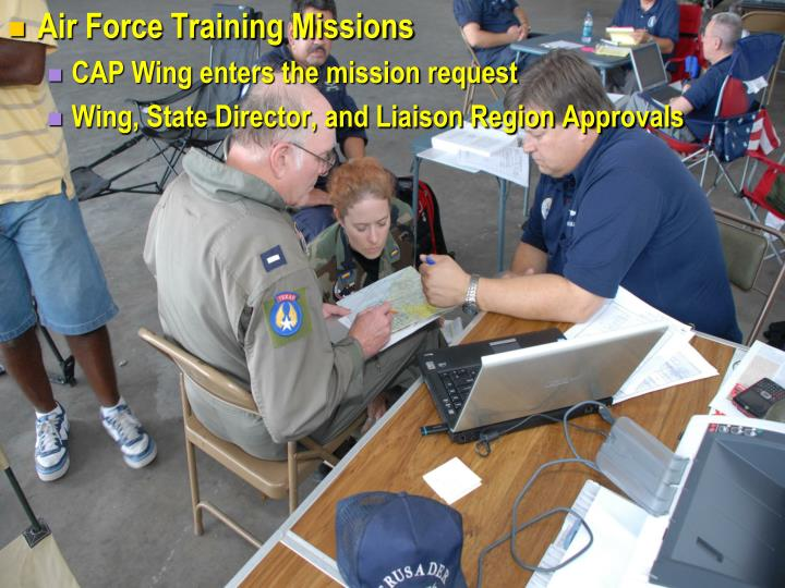 Air Force Training Missions