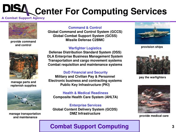 Center for computing services