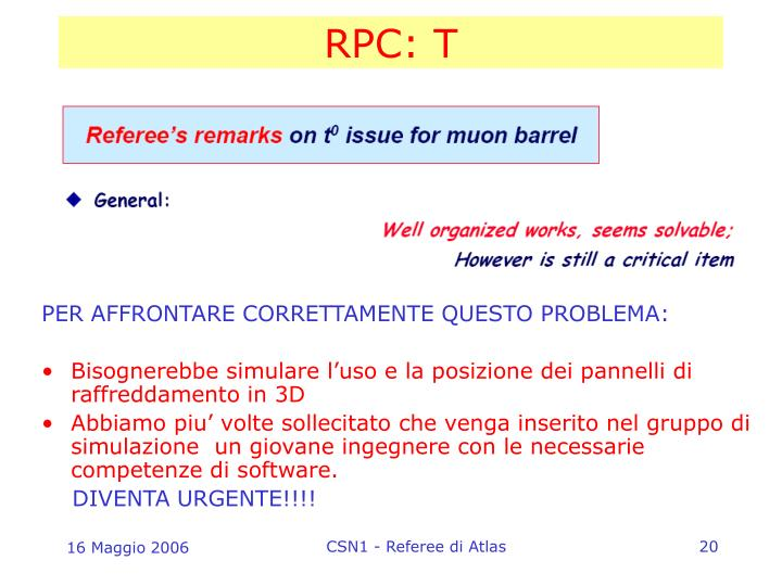 RPC: T