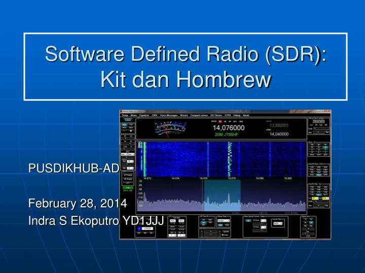Sdr Radio Software Linux