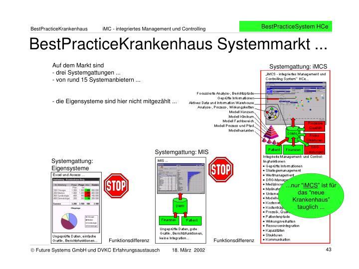 BestPracticeSystem HCe