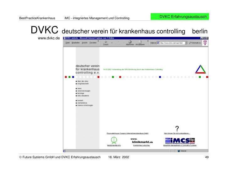 DVKC Erfahrungsaustausch