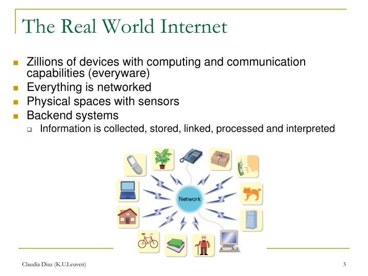 The Real World Internet
