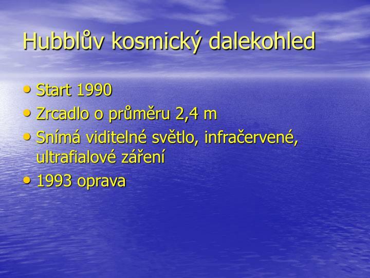 Hubblův kosmický dalekohled