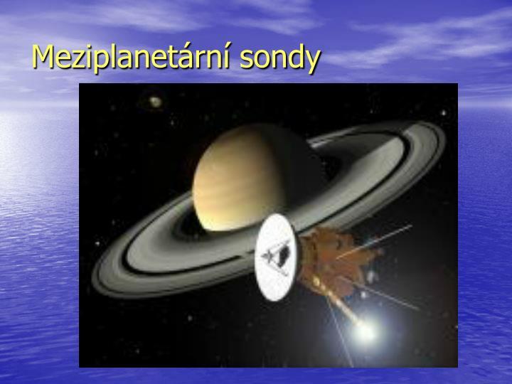 Meziplanetární sondy