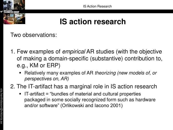 IS action research